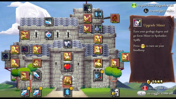 Rogue legacy enhancement